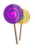 Sucreries de sucre Images libres de droits
