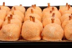 Sucreries de vacances de potiron Images libres de droits