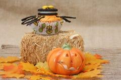 Sucreries de Veille de la toussaint Image stock