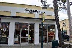 Sucreries du ` s de Robitaille de Carpinteria la Californie, 1 photo stock