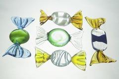 Sucreries en verre Photographie stock libre de droits
