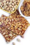 Sucreries faites main d'arachide Images libres de droits