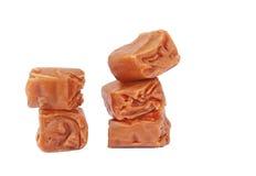 Sucreries faites maison de caramel Image libre de droits