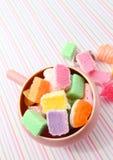 Sucreries mélangées Photo libre de droits