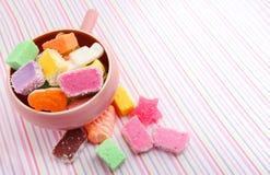 Sucreries mélangées Images libres de droits