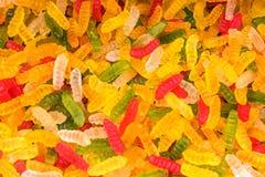 Sucreries multicolores de gelée photos libres de droits