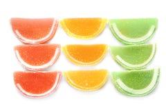 Sucreries savoureuses de gelée image libre de droits