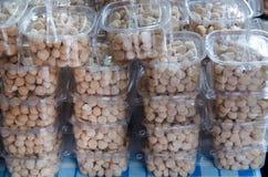 Sucreries thaïlandaises ou cinglement de kanom Images stock