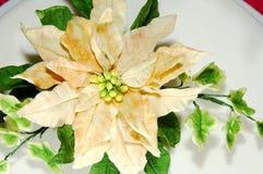 Sucrez les fleurs de givrage Photographie stock libre de droits