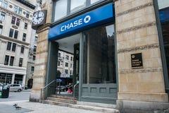 Sucursal bancaria de la caza Imagen de archivo