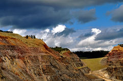 Sud Dakota del cavo della miniera di Homestake Immagine Stock Libera da Diritti
