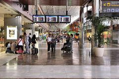 Sud de Ténérife d'aéroport Photo stock
