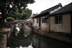 Sud du fleuve de Yang Tsé Kiang Images stock