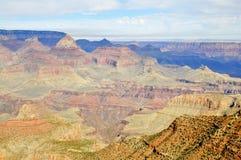 Sud ensoleillés Rim Overview de Grand Canyon photographie stock