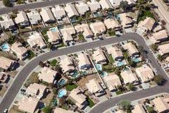 Sud-ovest suburbano Fotografia Stock Libera da Diritti