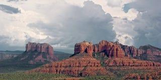 Sud rouge de pays de roche de Sedona Photographie stock libre de droits