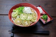 Sudachi Udon Royalty Free Stock Photo
