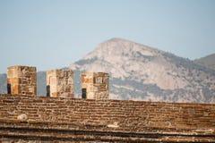 Sudak古老堡垒在克里米亚 免版税库存照片