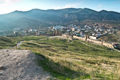 Sudak Κριμαία Στοκ εικόνα με δικαίωμα ελεύθερης χρήσης