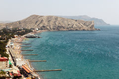 Sudak Bay Royalty Free Stock Images