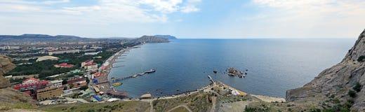Sudak-Bucht Stockfoto