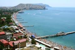 Sudak de Crimeia. fotografia de stock