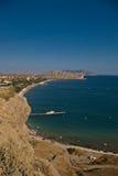 Sudak, de Krim Stock Afbeeldingen