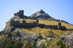 Sudak fortress Stock Images
