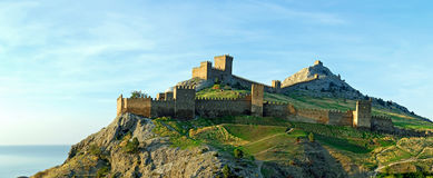 Sudak Fortress, Crimea Royalty Free Stock Image