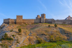 Sudak fortress Stock Photography
