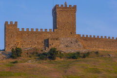Sudak fortress Royalty Free Stock Photos