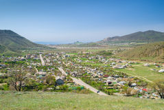 Sudak and its suburbs Royalty Free Stock Photo