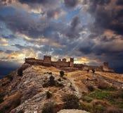 Sudak, Ukraine. Genovese fortress in Sudak, Ukraine Royalty Free Stock Photo