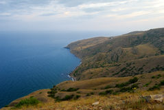 Sudak. View from Mount Kokush-kai Stock Image