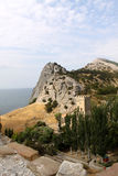 Sudak village, Crimea Stock Image
