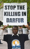 Sudan demonstration Stock Photography