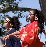 Sudanese Dancers Royalty Free Stock Images