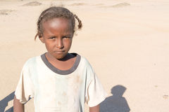 Sudanese girl portrait Stock Images