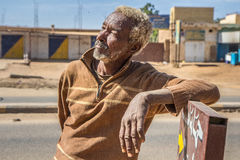 Sudanese man posing. Stock Photography