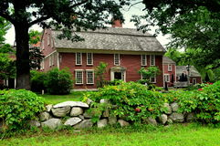 Sudbury, μΑ: 1716 πανδοχείο κράσπεδων Στοκ φωτογραφία με δικαίωμα ελεύθερης χρήσης
