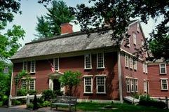 Sudbury, μΑ: 1716 πανδοχείο κράσπεδων στοκ φωτογραφία