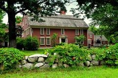 Sudbury, MA: Straßenrand-Gasthaus 1716 Lizenzfreies Stockfoto