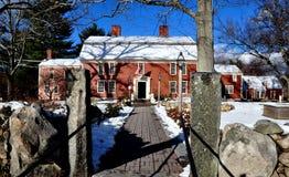 Sudbury, Massachusetts: 1715 Wayside Inn Royalty Free Stock Photos