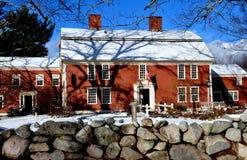 Sudbury, Massachusetts: 1715 Wayside Inn Stock Photography