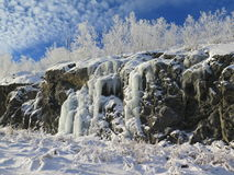 Sudbury-Winter-Sonnenwende Lizenzfreies Stockfoto