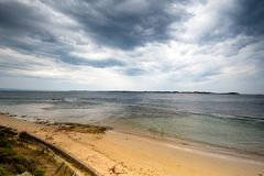 Summer Storm over Point Nepean royalty free stock photography