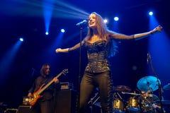 Suddenlash auf Konzert Lizenzfreie Stockfotos