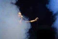 Suddenlash on concert Stock Photo
