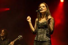 Suddenlash på konsert Royaltyfria Bilder