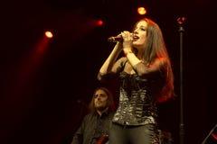 Suddenlash på konsert Royaltyfria Foton